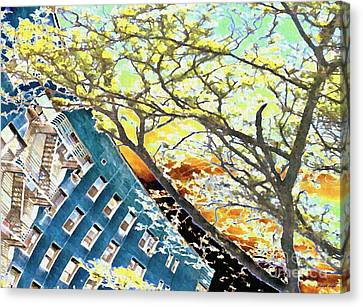 187 Street Re-imagined Canvas Print by Sarah Loft
