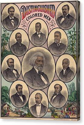 1883 Print Commemorating Canvas Print