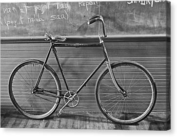 Canvas Print featuring the photograph 1895 Bicycle by Joan Reese