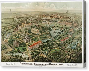 1897 Nashville Tennessee Canvas Print