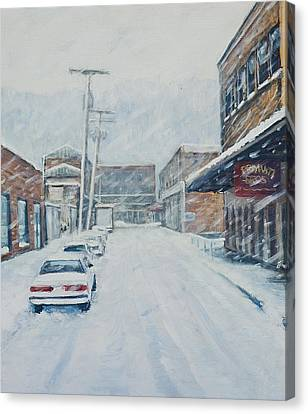18th From Smallman Canvas Print by Erik Schutzman