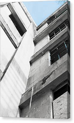 Derelict Building Canvas Print by Tom Gowanlock