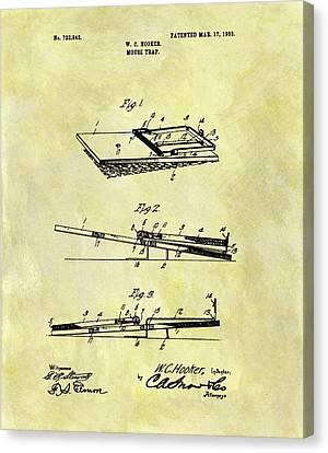 1903 Mouse Trap Patent Canvas Print