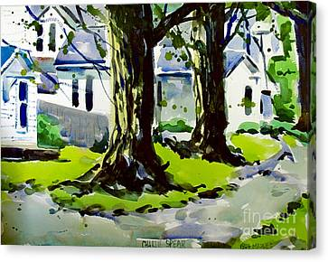 1904 Maples Framed Complete Canvas Print