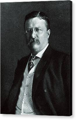 1904 President Theodore Roosevelt Canvas Print by Historic Image