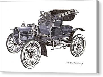 1906 Knox Runabout Canvas Print