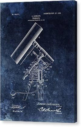 1906 Telescope Patent Canvas Print