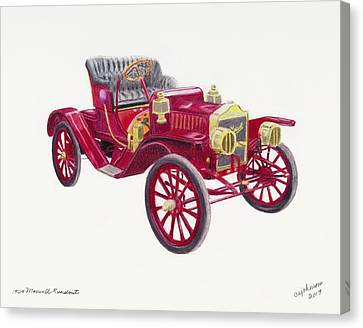 1909 Maxwell Runabout Canvas Print
