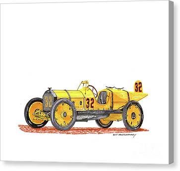 1911 Marmon Wasp Indy Winner Canvas Print