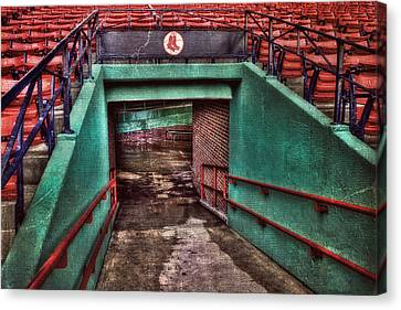 1912 - Fenway Park - Boston Canvas Print by Joann Vitali