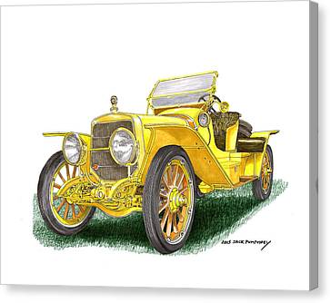1913 Lozier Type  72  Briarcliff  Canvas Print