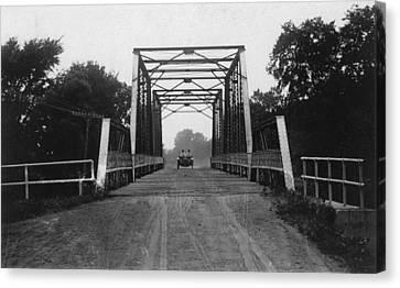 1915 Hudson Road Bridge Canvas Print by Greg Joens