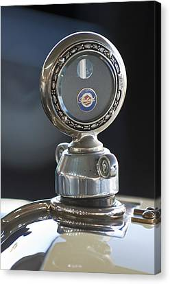 1916 Packard Hood Ornament  Canvas Print by Jill Reger