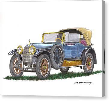 1917 Crane Simplex Dual Cowl Phaeton Canvas Print