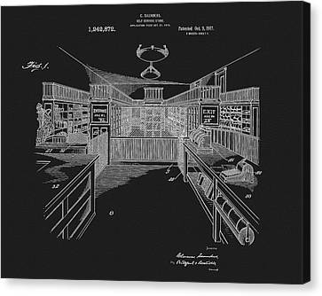 1917 General Store Patent Canvas Print by Dan Sproul