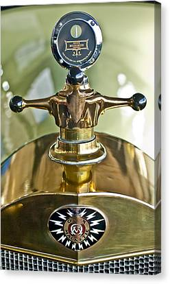 1917 Owen Magnetic M-25 Hood Ornament 2 Canvas Print by Jill Reger