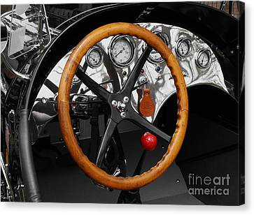 1920-1930 Ford Racer Dash Canvas Print