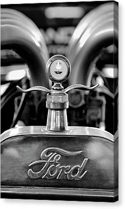 1923 Ford Hood Ornament 2 Canvas Print by Jill Reger