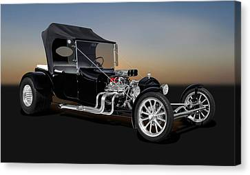 1923 Ford T-bucket  -  1923fordt9555 Canvas Print by Frank J Benz
