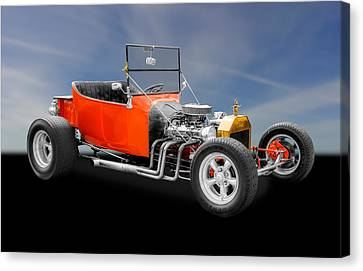 1923 Ford T-bucket Hot Rod Canvas Print by Frank J Benz