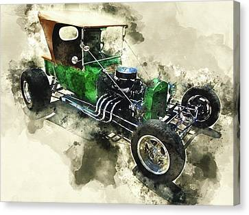 1923 Ford T-bucket Canvas Print by Kevin O'Hare