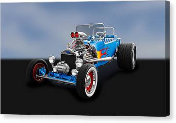 1923 Ford T-bucket Roadster   -   1923tbuc480 Canvas Print by Frank J Benz