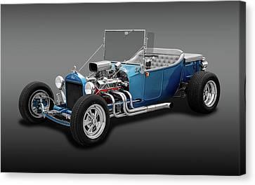1923 Ford T-bucket Roadster  - 23fdtbucketrdstrfa170297 Canvas Print by Frank J Benz