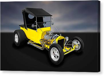 1923 Ford T-bucket Street Rod  -  Fdtb11 Canvas Print by Frank J Benz