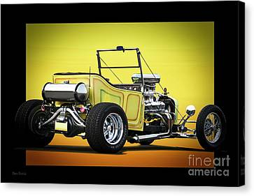 1923 Ford 'touring T' Roadster Canvas Print