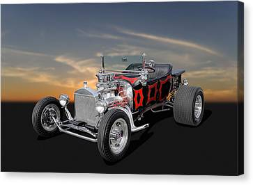 1923 Ford - Turnover T - 2 Canvas Print by Frank J Benz