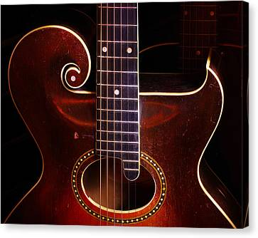 Canvas Print featuring the photograph 1923 Gibson by Jim Mathis
