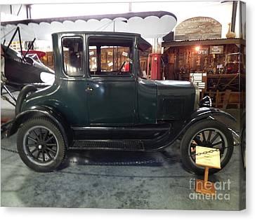 1923 Model T Coupe Canvas Print
