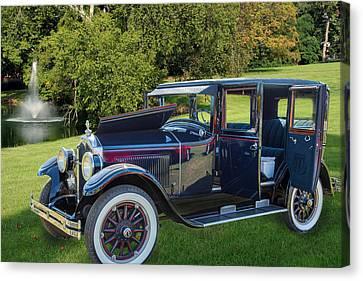 1924 Buick Duchess Antique Vintage Photograph Fine Art Prints 10 Canvas Print by M K  Miller