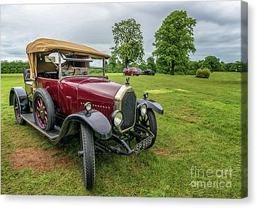 1925 Humber 12/25 Canvas Print by Adrian Evans