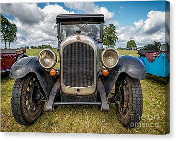 Grill Canvas Print - 1926 Chrysler by Adrian Evans