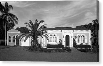 1925 Florida Venetian Style Home - 14 Canvas Print by Frank J Benz