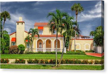 1926 Northern Italian Style Home - 49 Canvas Print by Frank J Benz