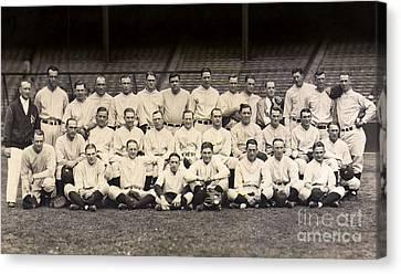 1926 Yankees Team Photo Canvas Print