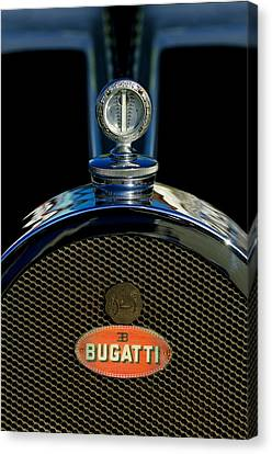 1927 Bugatti Replica Hood Ornament Canvas Print by Jill Reger