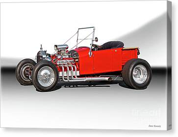 1927 Ford Bucket T Roadster Pickup I Canvas Print by Dave Koontz