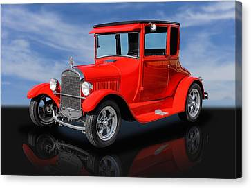 1927 Ford High Top - 1 Canvas Print by Frank J Benz