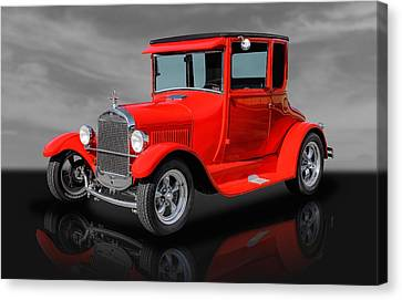 1927 Ford High Top - 2 Canvas Print by Frank J Benz