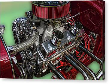 1927 Ford Hot Rod Engine Canvas Print by Nick Gray