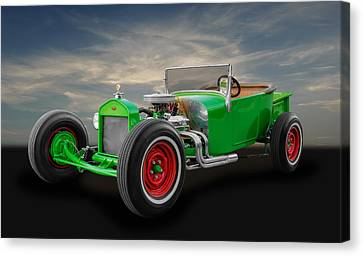 1927 Ford Model T Roadster Canvas Print by Frank J Benz