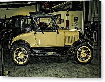 1927 Ford Model T Sport Roadster Canvas Print by CJ Anderson
