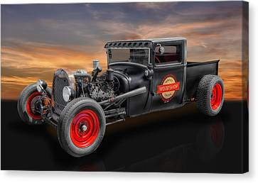 1927 Ford Pickup Truck Canvas Print