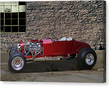1927 Ford Roadster Hot Rod Canvas Print by Nick Gray