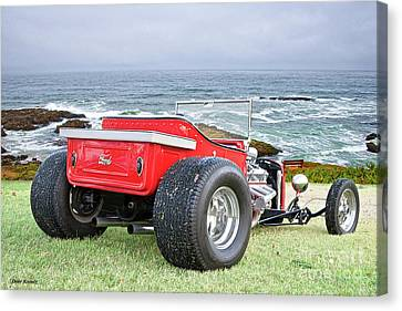 1927 Ford Roadster Pickup Canvas Print by Dave Koontz