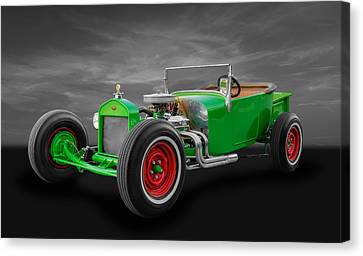 1927 Ford T Model Roadster Canvas Print by Frank J Benz
