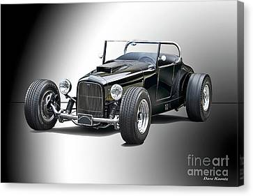 1927 Ford 'track T' Roadster II Canvas Print by Dave Koontz